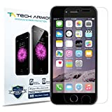 iPhone 6 Plus Screen Protector, Tech Armor Apple iPhone 6 Plus (5.5 inch ONLY) High Defintion (HD) Clear Screen Protectors - Maximum Clarity and Touchscreen Accuracy [3-Pack] Lifetime Warranty
