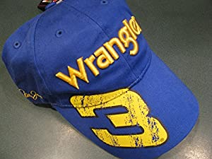 Dale Earnhardt Jr (With Dale Sr Daytona Win Pose Graphic) #3 Wrangler Blue &... by Chase Authentics