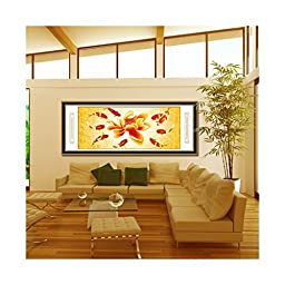 Cross Stitch Diamond Painting More Than Being Jealous Nine Fishes Diamond Stitch Diamond Painting