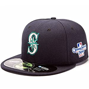 SEATTLE MARINERS MLB 59Fifty Fitted Cap Opening Series Japan 2012 by New Era