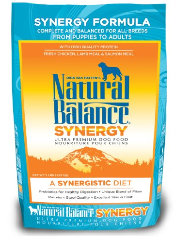 Image of Natural Balance Synergy Formula Ultra Premium Dog Food, 5-Pound Bag