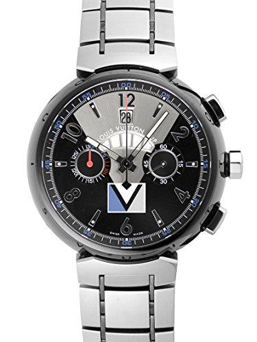 [ルイ・ヴィトン] 腕時計 タンブール フライバッククロノグラフ レガッタV3 Q102G SS/PVD メンズ [中古品]