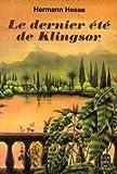 echange, troc HESSE Hermann - LE DERNIER ETE DE KLINGSOR