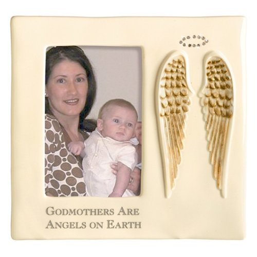 Godmothers Are Angels on Earth Frame - 1