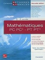 Mathématiques PC PC* - PT PT* 2e année