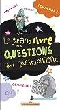 echange, troc Alain Korkos, Hortense de Chabaneix, Collectif - Le grand livre des questions qui questionnent