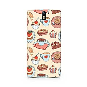 Mobicture Blissful Confectionary Printed Phone Case for OnePlus One