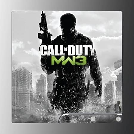 Call of Duty Modern Warfare 3 Black Ops 2 Game Vinyl Decal Skin Protector Cover #12 for Playstation PS3 Slim