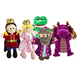 CP Toys Royal Puppets for Storytelling / 5 pc set