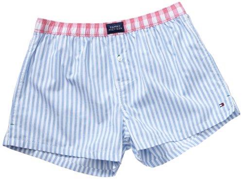 Tommy Hilfiger Men's Fabrice Stripe Woven Boxer Shorts