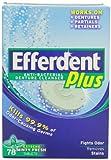 Efferdent Efferdent Plus Denture Cleanser Minty Fresh Flavor, Minty Fresh Flavor 78 tabs