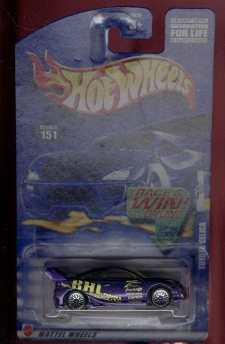 Hot Wheels 2002-151 Toyota Celica 1:64 Scale - 1