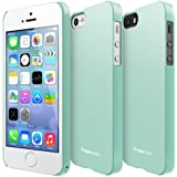 RINGKE SLIM Apple iPhone 5 / 5S Case [LF Mint] SUPER SLIM + LF COATED + PERFECT FIT Premium Hard Case Cover for Apple iPhone 5 / 5S [ECO Package]