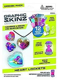 RoseArt Graphic Skinz Design Set, Heart Lockets