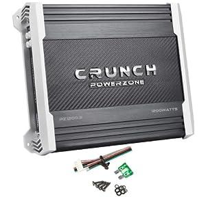 Crunch PZ1200.2 1,200 Watt Max 2-Channel Amplifier PowerZone Series Car Amp