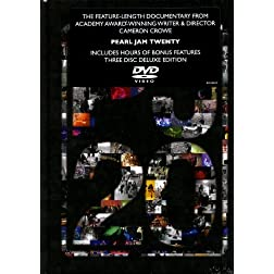 Pearl Jam Twenty (3-Disc Deluxe Edition DVD)