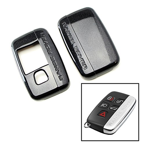 ijdmtoy-1-exact-fit-glossy-metallic-black-smart-key-fob-shell-cover-for-2010-2015-land-rover-5-butto