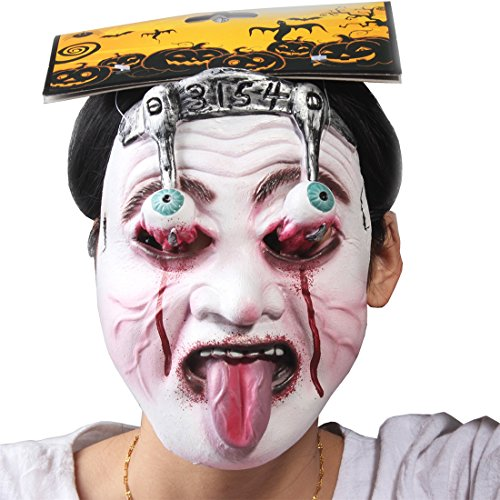 Halloween Masquerade Party Costume Cosplay Bloody Monster Ghost Scary Face Mask