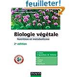 Biologie végétale : Nutrition et métabolisme - 2e édition