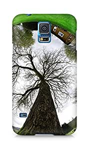 Amez designer printed 3d premium high quality back case cover for Samsung Galaxy S5 (World Reflected)