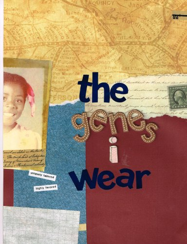 the-genes-i-wear-poem-book-the-genes-i-wear-workbook-and-journal-english-edition