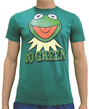 LOGOSH!RT The Muppet Show Retro Comic Herren T-Shirt KERMIT GO GREEN - GRÜN Gr. M (L19)