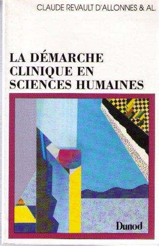LA DEMARCHE CLINIQUE EN SCIENCES HUMAINES. Documents, m PDF
