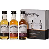 Bowmore Single Malt Whisky Miniature Gift Set (contains 3 x Bowmore 5cl miniatures)