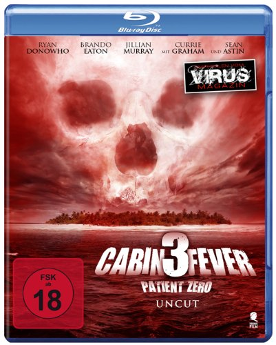 Cabin Fever 3 - Patient Zero (Uncut) [Blu-ray]