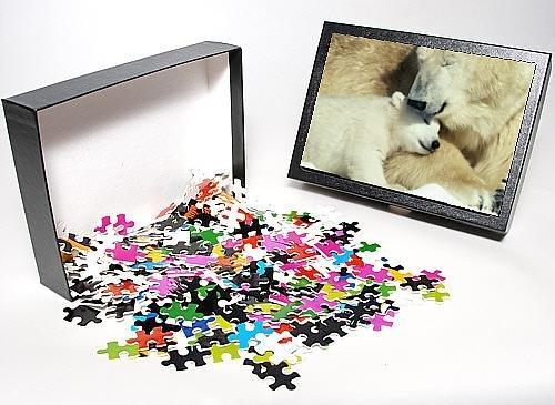 Photo Jigsaw Puzzle Of Polar Bear A Cub front-934179