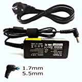 Netbook Charger for Acer Aspire One 522 722 D255 D255e D257 D260 D270 Happy 2 Series UK Power Cord Included