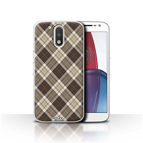 stuff4-phone-case-cover-for-motorola-moto-g4-plus-2016-brown-design-tartan-picnic-pattern-collection