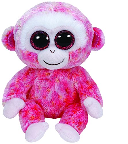 Ty Beanie Boos Ruby the Red Monkey Plush - 1