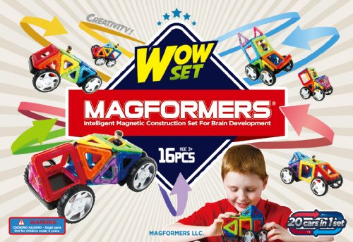 Magformers Wow Set 16 Pcs. front-981294