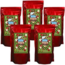 Hawaii Roasters 100% Kona Coffee, Dark Roast, Whole Bean, 5 14-Ounce Bag