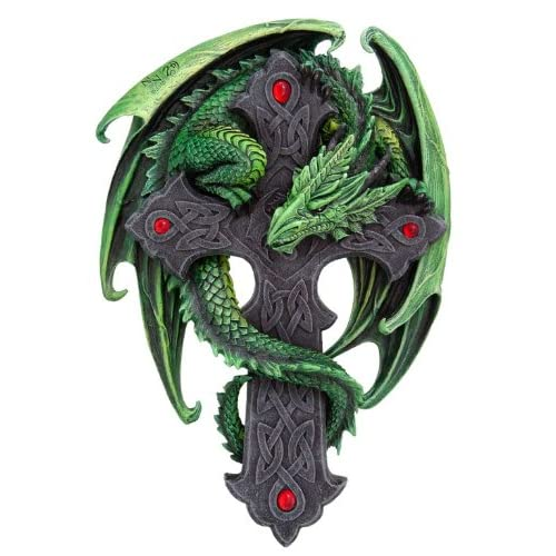 Amazon.com - Woodland Guardian Plaque ~ Green Dragon