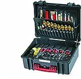 PARAT 6480.100-391 PARAPRO Werkzeugkoffer mit genähten Separationen, schwarz