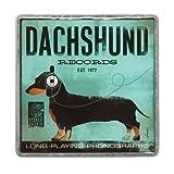 Dogs Rock Dachshund Magnet