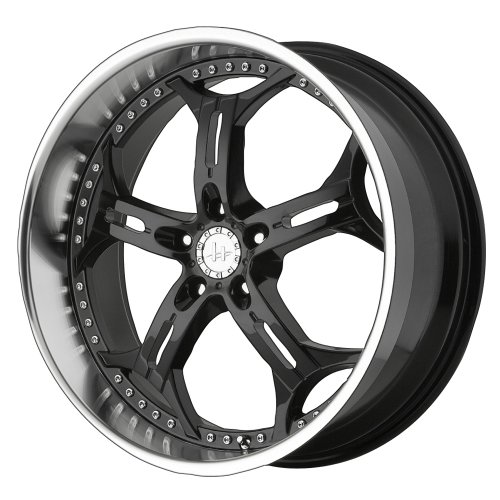 Helo HE834 Gloss Black Machined Wheel - (18x8