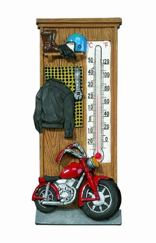 Spoontiques Motorcycle Thermometer