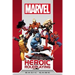 Marvel Heroic Roleplay Basic Game by Cam Banks,&#32;Amanda Valentine,&#32;Matthew Gandy and Jeremy Keller