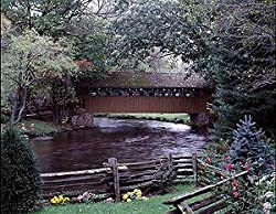 Bridge at Little Hope, Wisconsin, in Spring - Enchanting 16x20-inch Photographic Print by Carol M. Highsmith