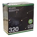 Home - Lichterkette Lichternetz mit 320 LEDs warmweiß / 300x150cm / Innen & Außen