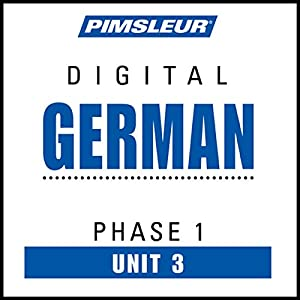 German Phase 1, Unit 03 Audiobook