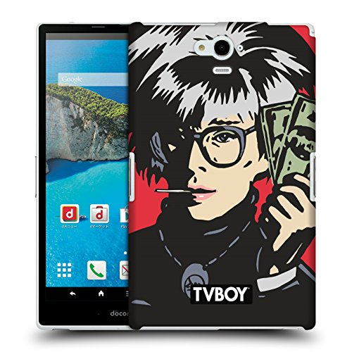 Ufficiale TVBOY Andy Whore Celebrities Arte Di Strada Cover Retro Rigida per Sharp Aquos Pad SH-06F