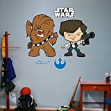 Fathead Han Solo and Chewbacca Pop Real Big Wall Decor