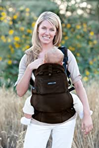 Lillebaby 5 Position Everywear Baby Carrier - Organic - Earth Brown