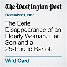 The Eerie Disappearance of an Elderly Woman, Her Son and a 25-Pound Bar of Gold (       UNABRIDGED) by Yanan Wang Narrated by Sam Scholl