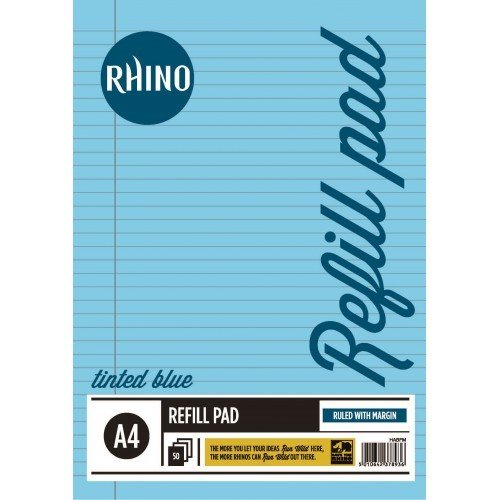rhino-a4-special-tinted-paper-education-refill-pad-blue
