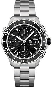 Mens Watch Tag Heuer CAK2110BA0833 Aquaracer Aquaracer Chronograph Automatic Sta